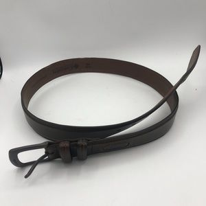 Columbia Men's Brown Leather Belt size 40
